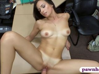 Brunette Babe Pawns Her Meat wallet And Fucked At The Pawnshop