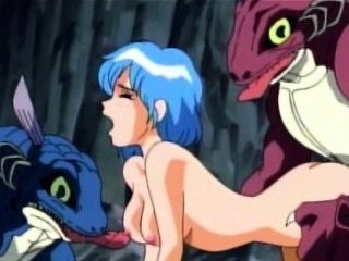 Hentai Teenaged Fucked By Two Monsters Outdoor