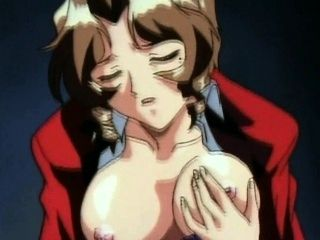 Hentai Honey With Nipple Clamps Gives Deep Head
