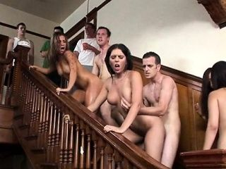 Pal Is Stuffing Face Hole And Snatch Of Chick By Penis