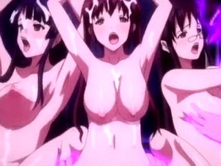 Super Sexy Anime Having Fantastic Perky Knockers Is Boned In Different Positions