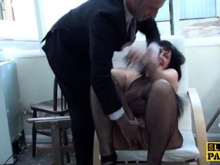 Well-endowed Bdsm Brit Dominated And Made To Squirt