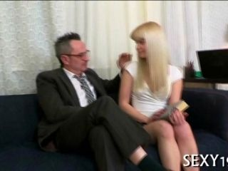 Blonde Cutie Pie Seduces By Her Teaches And Fucked In Shaved Meat wallet